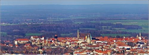 Bautzen - Ansicht vom Mönchswalder Berg