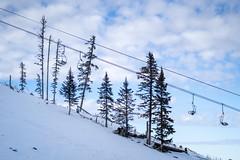 Empty Ski Lift Chairs - Ski Resorts Closed?