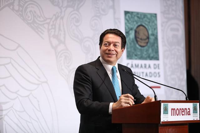 18/03/2020 Conferencia de Prensa Dip. Mario Delgado Carrillo