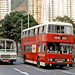 Hong Kong 1982: KMB BL3 (CR2963) on Causeway Road, Causeway Bay