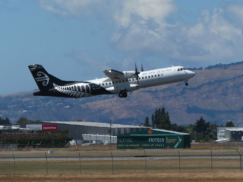 ZK-MVD Air New Zealand ATR 72-600 (c.2013)