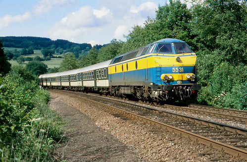 NMBS 5531 @ Grand Halleux