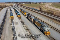 UP 1989 | EMD SD70ACe | UP Marion Intermodal Railport