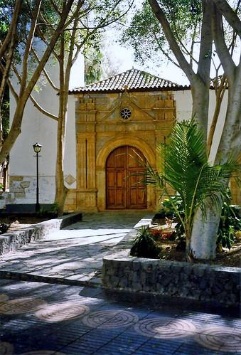 Church door, Pajara, Fuerteventura, 20th March 1998