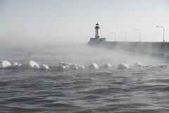 Lighthouse, Canal Park, Duluth 2/13/20