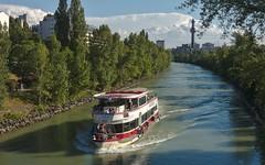 2017-07-05 AT Wien 09 Alsergrund & Wien 19 Döbling & Wien 20 Brigittenau, Donaukanal, Müllverbrennungsanlage Spittelau, Blue Danube 30000186