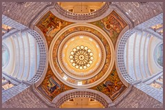 Utah State Capitol Dome Interior - Salt Lake City, UT