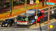 WMATA Metrobus 2006 New Flyer DE40LFR #6041