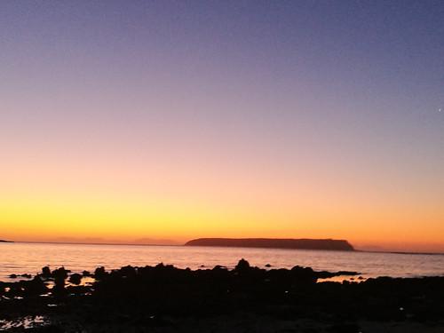 Kapiti sunset 20 02-1