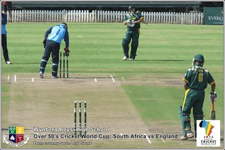 Over 50's Cricket World Cup: South Africa vs England