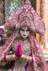 Italy - 2020 Venice Carnevale - San Zaccaria and San Marco