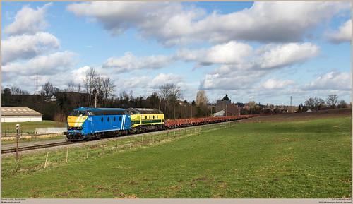 TUC-Rail 6282 + 6292 @ Tubize