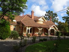 Adelaide. Near Burnside Hospital. Edwardian gentleman's villa house.
