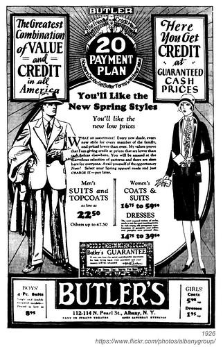 1926 butler's