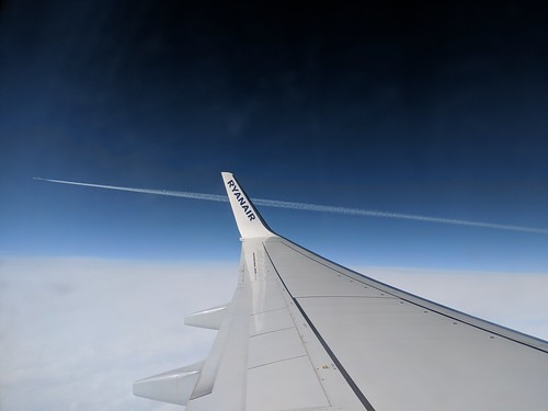 Wing View - Ryanair