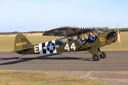Duxford United Kingdom Picture : G-BECN / 480480 Piper L-4J Grasshopper