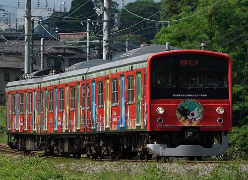 富士急 6000系 6003F リサとガスパールトレイン_00001