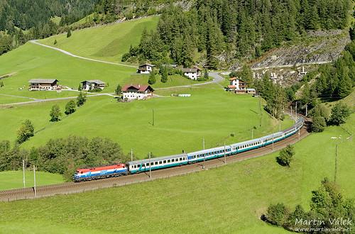 1116.041 ÖBB, IC 87 Tiepolo, St. Jodok - Gries (Austria)