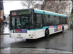 Man NL 223 – RATP (Régie Autonome des Transports Parisiens) / STIF (Syndicat des Transports d'Île-de-France) n°9122