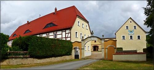 Vorwerk Wachtnitz im Ketzerbachtal bei Lommatzsch