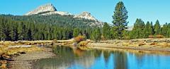 Tuolumme River and Granite Domes, Yosemite 2017