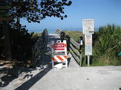 Indian Rocks Beach, Fl. Closed