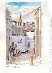 Street view, Barbican, Plymouth