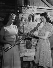 Jane Russell at Knott's Berry Farm