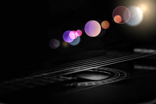 Musical lights 💕🎸🎶