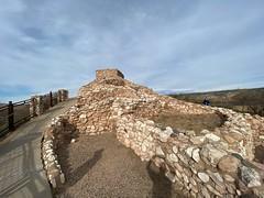 Wide angle lens of pueblo