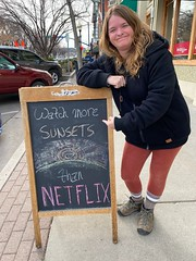 Watch more sunsets than Netflix