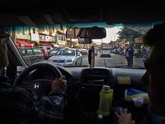 Lebanon, Beirut - Inside a taxi - November 2016