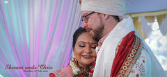 shivani weds chris ..