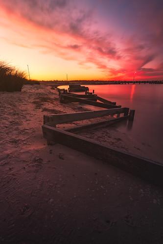 Sunset Applecross Jetty - Perth, Western Australia