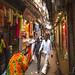 Chandni Chowk, uno de los mayores y más antiguos mercados del país en Vieja Delhi.