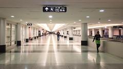 Lebanon, Beirut - Linear perspective at Beirut Rafic Hariri International Airport - November 2016