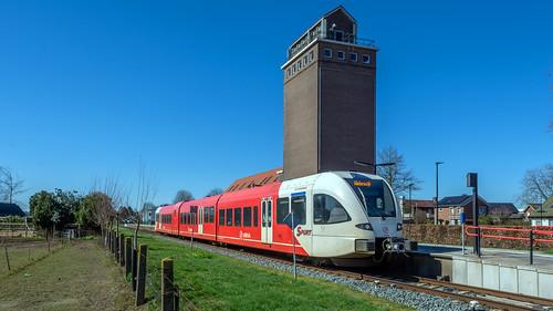 Wehl Arriva GTW 370 stoptrein Winterswijk