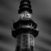 Clock Tower, Lumphini Park, Fine Art Architectural Photography