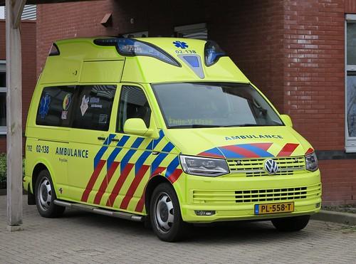 Ambulance | 02-138 / PL-558-T | UMCG ambulancezorg