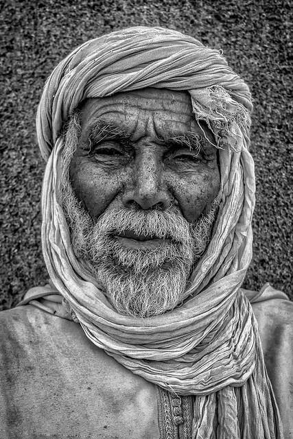 Le berbere du désert
