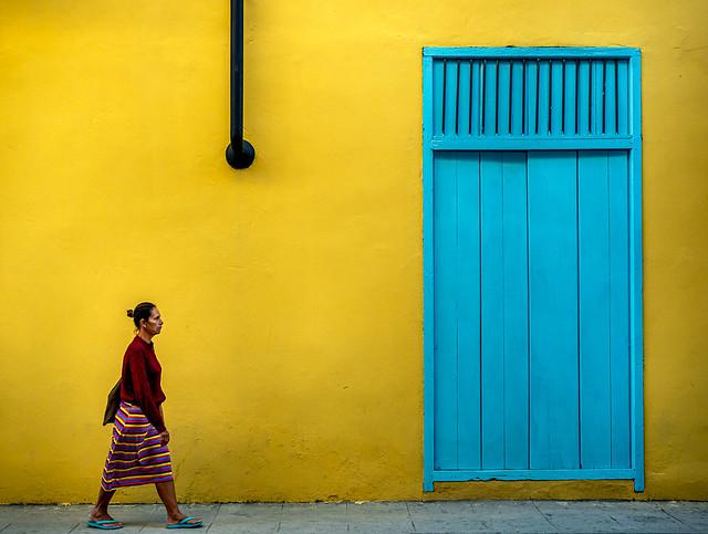 Cubaine haute en couleur