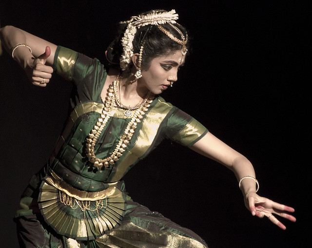Bharatanyam danse