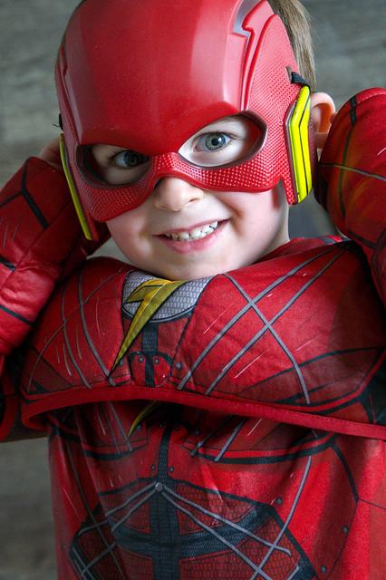 De timide à super héro