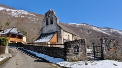 Eglise Saint-Étienne d'Uchentein , Ariège  (47em selection explore flickr, 23 mars 2020 #300)