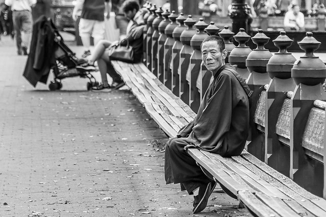 Solitude dans la cité