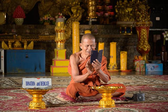 Un moine de son époque