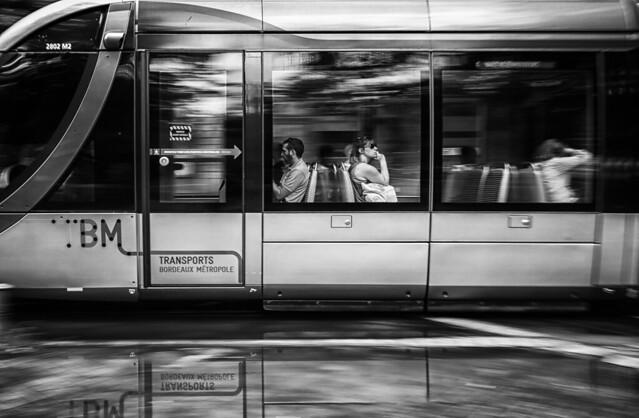 Les passagers du Tram