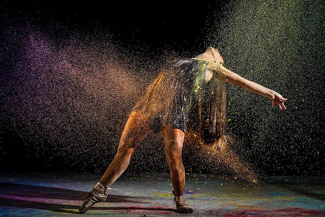 Splash coloré