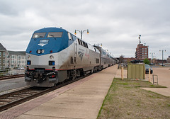 Amtrak City of New Orleans #1059 AMTK 189 (GE P42DC) Big Game Unit Memphis, Tennessee