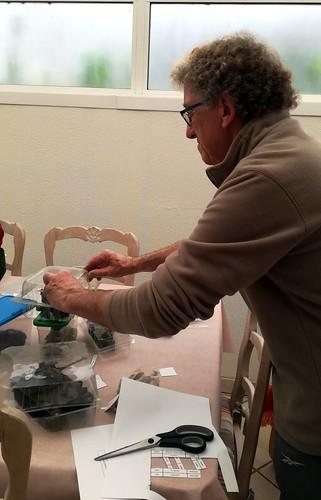 Alain et ses maquettes